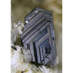 Biotite ~ In den Dellen Quarries, Niedermendig, Mendig, Eifel Mountains, Germany