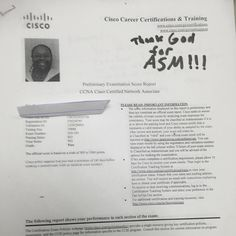 We are proud of our student who has passed their CISCO switch exam. Comptia ,CCNA CCNP,Certification ,success ,network ,security