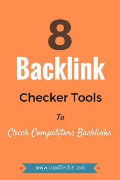 Are you concerned about your competitor's backlinks? Having good quality backlinks are not so easy these days. So we can look into our competitor's backlinks and can try to reach those good quality sites for backlinks. Search Engine Marketing, Seo Marketing, Online Marketing, Digital Marketing, Content Marketing, Affiliate Marketing, Media Marketing, Seo For Beginners, Seo Tools