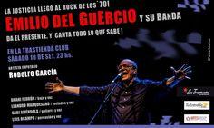 Emilio Del Guercio estará en La Trastienda