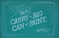 Collage Students Anonymously Create Beautiful Illustrated Quotes on a Classroom Chalkboard Each Week