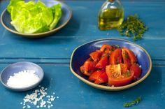 Salada de tomate com segurelha | Panelinha - Receitas que funcionam