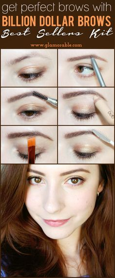 Perfect Eyebrows Made Easy With Semi Permanent Make Up Eyebrow Pencil, Eyebrow Makeup, Skin Makeup, Eyebrow Grooming, All Things Beauty, Beauty Make Up, Hair Beauty, Brow Tutorial, Threading Eyebrows