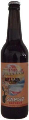 Ballen Classic er en undergæret øl som er brygget på økologisk malt og humle, den har en flot rødbrun farve og en blød og rund smag med et strejf af karamel.