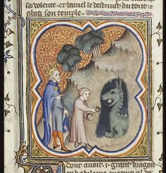 Sadly, this situation ends badly for the dragon. (see Bel and the Dragon story from Daniel) The Hague, MMW, 10 B 23