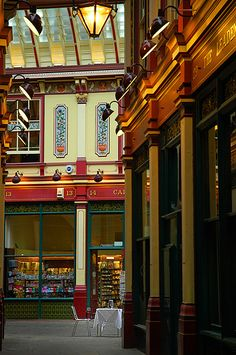 Leadenhall Market,London,  Photo by Photographer Ernst Landgrebe