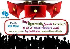Find Brand Promoter Job in careerbilla.com