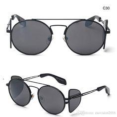 7709c0a3c36 Round Vintage Sunglasses For Woman And Man Retro Fashion Google Sun Glasses  Beach Sunglasses Designer Brand Sport Sunglasses Sports Sunglasses Cheap ...