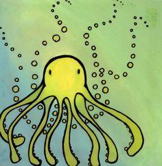octopus by Little-Rachel.deviantart.com on @deviantART