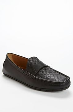 Free shipping and returns on Gucci 'Blair' Driving Shoe at Nordstrom.com. A brand-stamped top panel defines a smart driving shoe shaped from soft, finely grained leather.