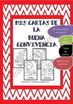"""Las Cartas de la Buena Convivencia"" is a great resource for the Spanish teachers when starting the Year and they have to establish rules and teach the Good manners in the class."