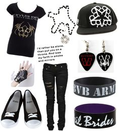 """BVB"" by karine-biersack ❤ liked on Polyvore"