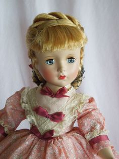 "MAGNIFICENT 1949 14"" Madame Alexander Little Women Meg from gandtiques on Ruby Lane"