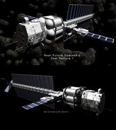 Near Future Spaceship Texture1 by *Mallacore on deviantART