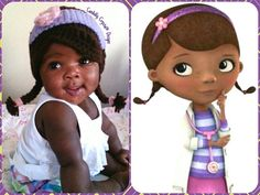 Doc McStuffins Crochet Hat by CandidlyCrystal on Etsy