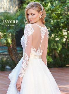 Wedding Dresses | Bridal Gowns | KittyChen Couture - Paola