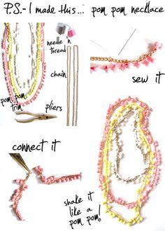 cute DIY necklace