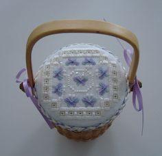 """Nantucket Basket Topper """"Butterfly"""" by Lorri Birmingham"""