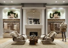 Can't get over how much I like this one. Could this please be my living room /  closet?!