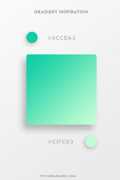 color palette copies Vibrant colors and vivid gradients are one of the key trends in UI, web, and graphic design nowadays. Spain-based designer Yaroslav Iakovlev from Zeka Design h Flat Color Palette, Colour Pallete, Color Palettes, Green Pallete, Design Logo Inspiration, Color Inspiration, Creative Inspiration, Web Design, Graphic Design Tips