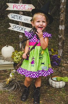 Don't miss this boo-tiful dress this Halloween season! Shop Eleanor Rose Hocus Pocus collection!