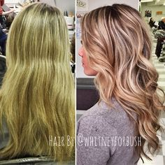 Crazy what a refresh on color can do. Earlier this week I got to take this babe from tired blonde to bright & dimensional with some nice roots.  #highlights #balayage #matrixcolor #blonde