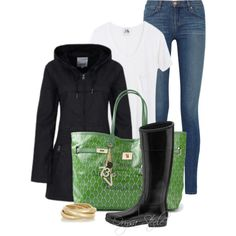 """Friday Showers"" by orysa on Polyvore"