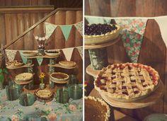 wedding berry pies