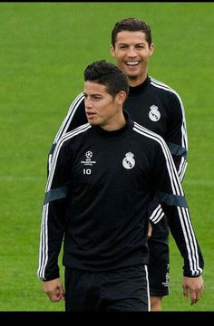 James Rodriguez & Cristiano Ronaldo