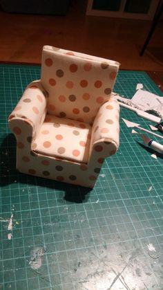 elkészült a kis fotel
