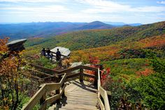 Rough Ridge hike on the Blue Ridge Parkway