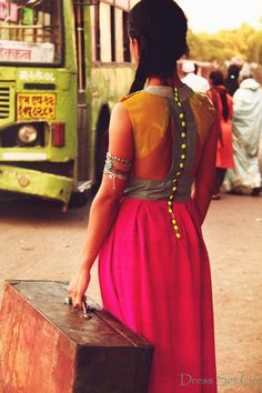 http://dresssetgo.blogspot.in/    Designer: Shruti Garg, Dress Set Go!  Model: Jaie Bhadane  Stylist: Komal Vora  Photography: Shriparna Sarkar