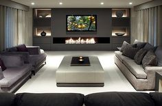 Modern living room..love this!