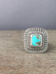 Campitos turquoise ring, by Prox