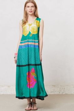 Grandiflora Maxi Dress in May 2013 from Anthropologie on shop.CatalogSpree.com, my personal digital mall.