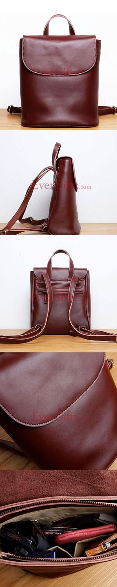 8795f8bd5a Genuine leather backpack bag satchel bag vintage women handbag shoulder bag  crossbody bag Crossbody Bag