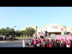 On October 2, the Pink Heals Hays County fire truck arrived at CTMC for a special balloon release in honor of those who are fighting and who have been lost to cancer. The balloon release took place in conjunction with the grand opening of CTMC's Women's Center for Breast Health.