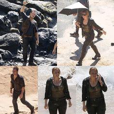 "Mskv Awsome News: Several brand-new photos from the set of ""Jurassic..."