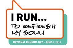 Why I run...