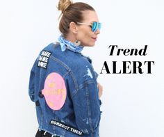 It's official,patchesare back. Now if this isn't a total throwback to the '90s, I don't know what is. Get our your sewing kits people and find your fave piece of denim from your closet, because thisaccessoryis one trend that the world has fallen in love with (all over again). Already, we're seeing A-List celebs likeGigiandKanyepulling …