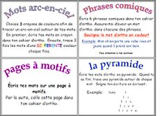 French Daily work on words ideas Source: Classe de madame Bernice: 5 au quotidien Daily 5 Activities, Word Work Activities, Spelling Activities, Vocabulary Activities, French Teaching Resources, Teaching French, Teaching Writing, Teaching Ideas, Literacy Cafe