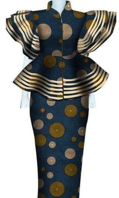 Latest African Fashion Dresses, African Dresses For Women, African Print Fashion, Africa Fashion, African Attire, African Print Dress Designs, African Clothing For Men, Nigerian Dress Styles, Wax