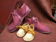 Genuine Leather Handmade Shoes  Cranberry Wine Red by thoseshoes, $145.00