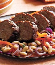 Balsamic-Glazed Lamb Meat Loaf | Get the recipe: http://www.realsimple.com/food-recipes/browse-all-recipes/balsamic-glazed-lamb-meat-loaf-recipe-00000000028094/index.html