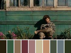 Movie Color Palette, Colour Pallete, Colour Schemes, Color Palettes, Movie Titles, Movie Film, Emma Movie, Cinema Colours, Color In Film