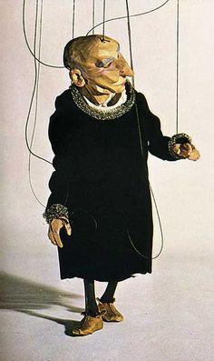 W.A. Dwiggins – Miser marionette