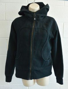 Awesome Basic! Warm Lululemon Scuba Hoodie Black sz 8 Great Gift!   Click for more info :)