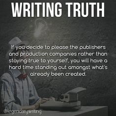There are a lot of writers out there who are trying to please the publishers, but staying true to yourself is what makes you UNIQUE!  #writer #writers #writing #author #authors #amwriting #book #books #bookstagram #bookworm #reading #realtalk #relatable #truth #goals #progress #passion #success #quotestoliveby #quoteoftheday #quotes #wisdom #instagood #instalike #instadaily #motivation #writerscommunity #writersofig #writersofinstagram #writerslife