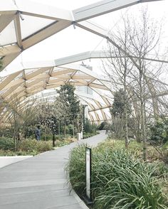 Walk through this beautiful roof garden and what do you find? Why the best BBQ and Lobster on the earth of course ... Click the link in the bio for The Big Easy #CanaryWharf review now! #Millyreviews by millycookbook