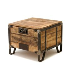 Repurposed End Tables